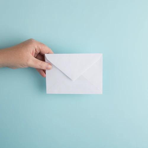 Zakelijke envelop