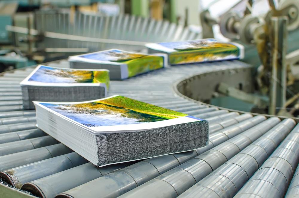 Traditioneel print drukwerk