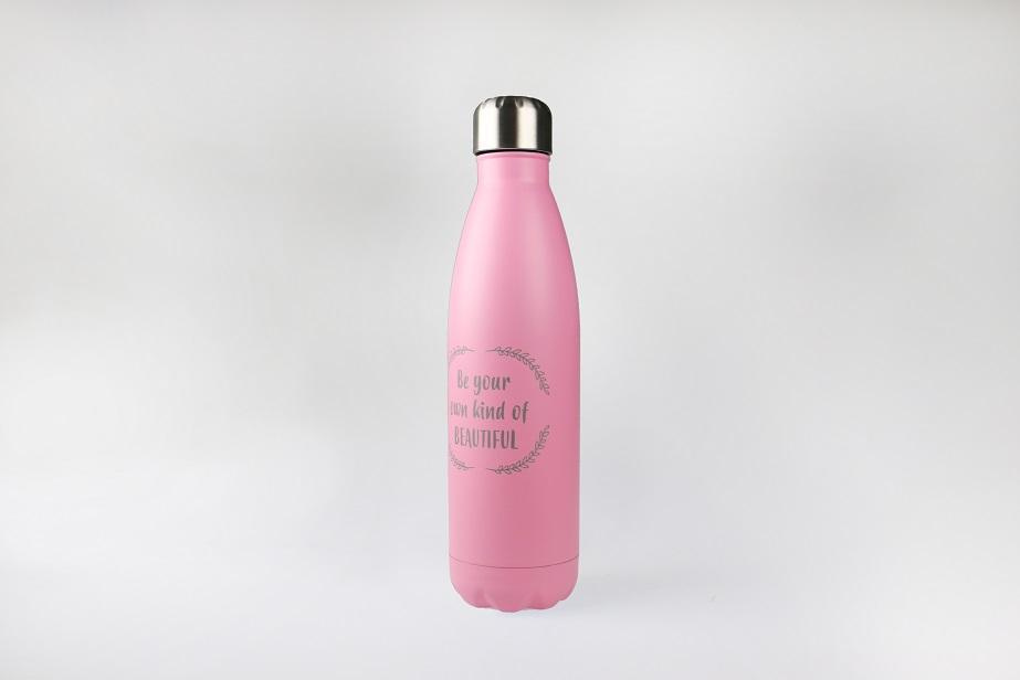 Thermosfles roze
