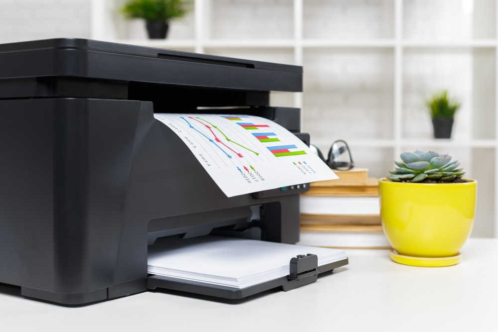 Formaat van de printer